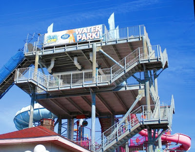 Summer Fun at the Splash Zone Waterpark in Wildwood New Jersey
