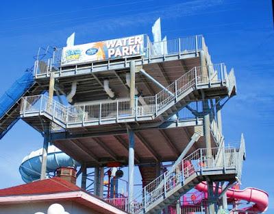 Summer Fun at the Splash Zone Waterpark in Wildwood New Jersey