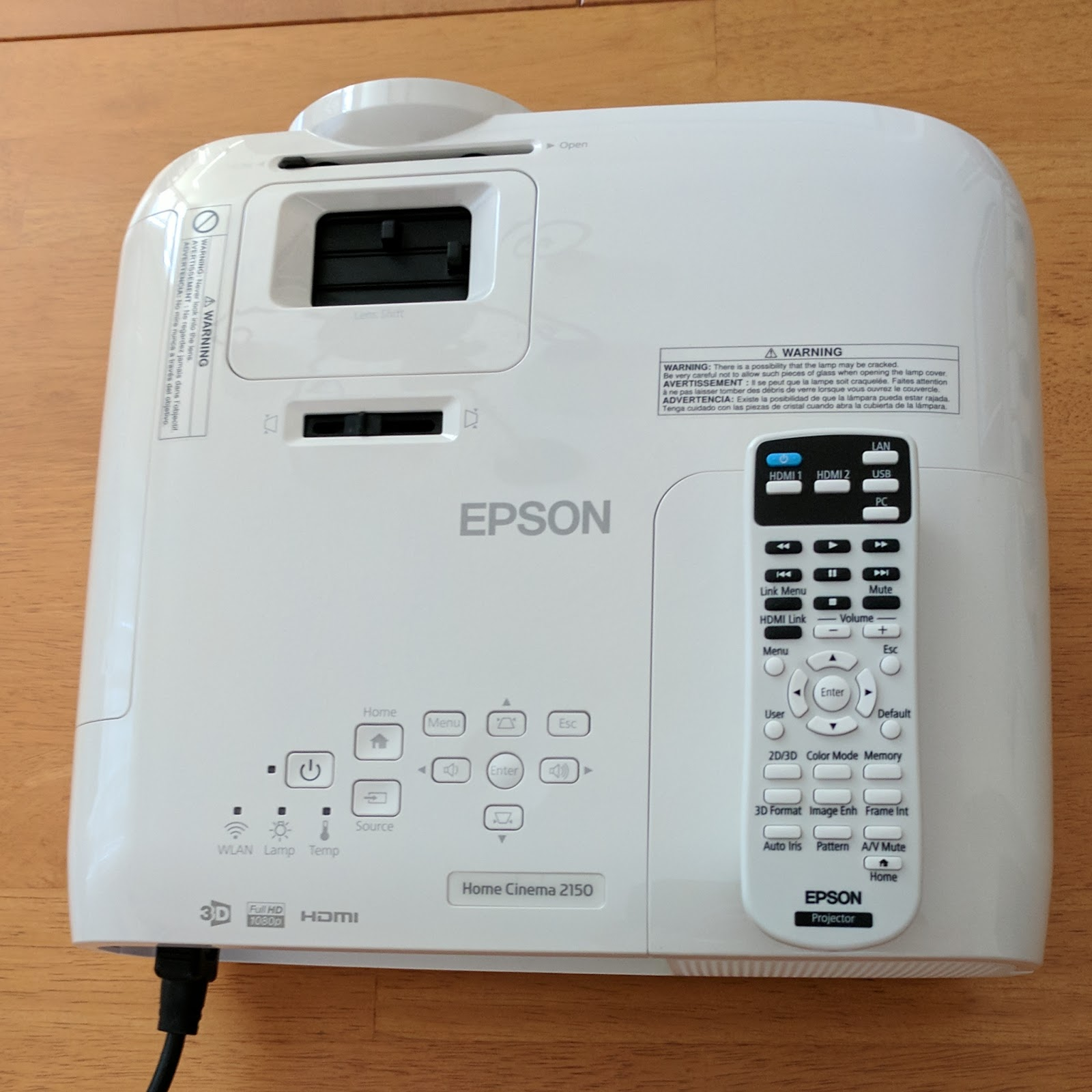 Bryan Hill's Blog: Product Review: Epson Home Cinema 2150