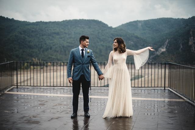 Jara y Juanjo, boda en las montañas de Huesca | A todo Confetti ...
