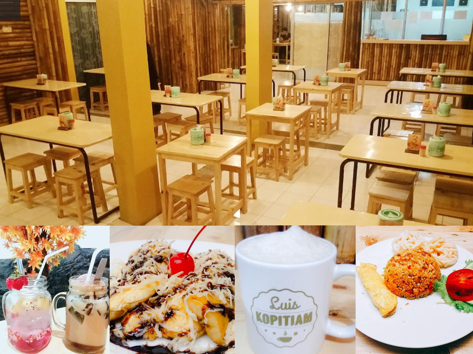 Luis Kopitiam Cafe Jalan Ahmad Dahlan 56 Bandung
