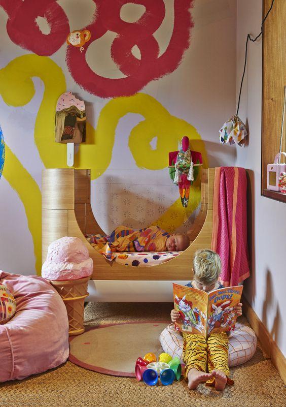 chambre de bébé futuriste