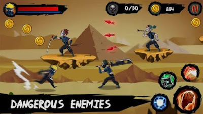 ninja runner adventure mod apk data android full version 1