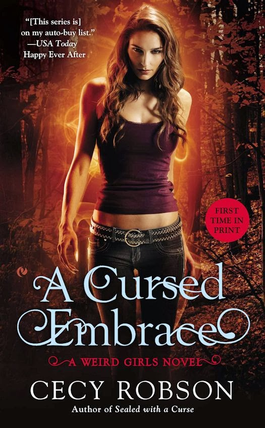Review: A Cursed Moon (A Weird Girls Novella) by Cecy Robson