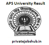 APS University Result