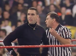 WWE / WWF Capital Carnage 1998 - Referee Gerald Brisco told Vinnie Jones he had to leave
