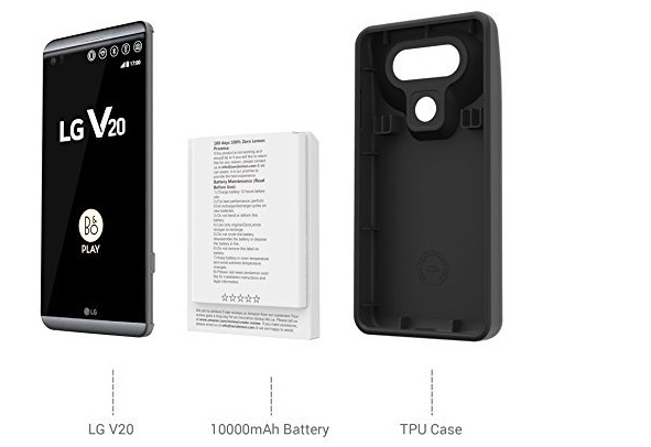 Wow !! LG V20 Dapat Bertahan 5 Hari Tanpa Charge dengan Baterai ZeroLemon