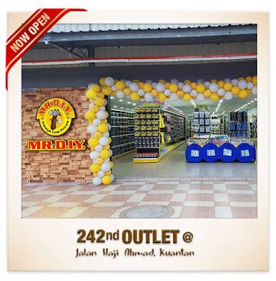 MR.DIY outlet Jalan Haji Ahmad Kuantan FREE AIRTIGHT FOOD CONTAINERS
