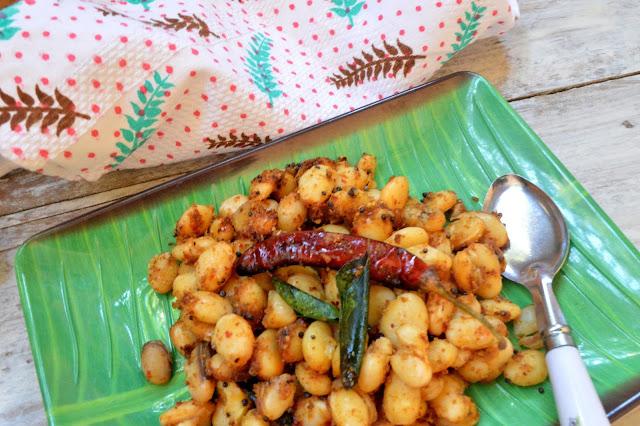 Mochai sundal | Field Beans Sundal | Snack recipe