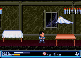 ghostbusters megadrive