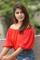 Rhea Chakraborty in Red Crop Top and Denim Shorts Spicy Pics ~  Exclusive 282.JPG