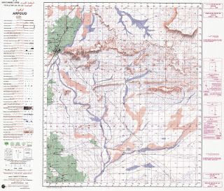ARFOUD Morocco 50000 (50k) Topographic map free download
