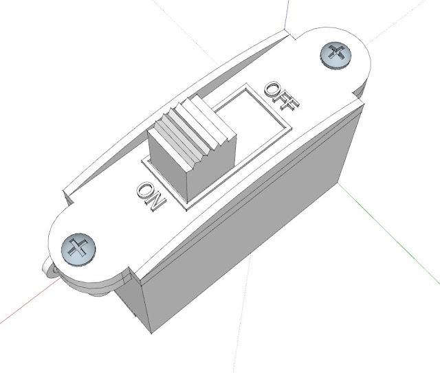 RC sailboat servo switch