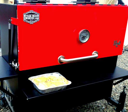 Myron Mixon Smoker MMS-48 Review Turkey Meal One of Seven
