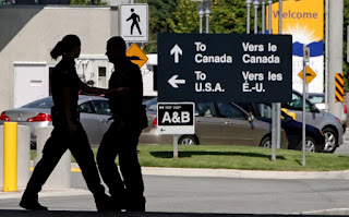 US citizens entering Canada