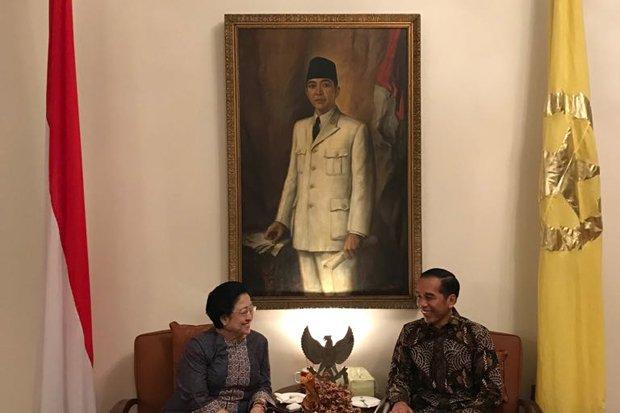 Jokowi-Mega Bertemu di Batu Tulis, Nama Cawapres Mengerucut