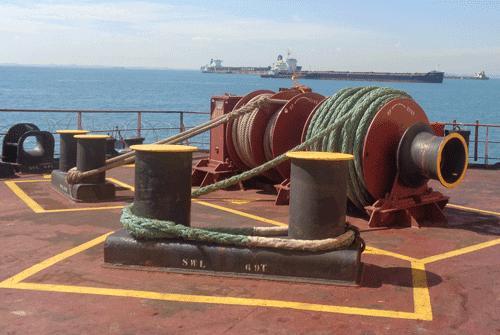 Электроприводы грузовых и якорно-швартовных устройств