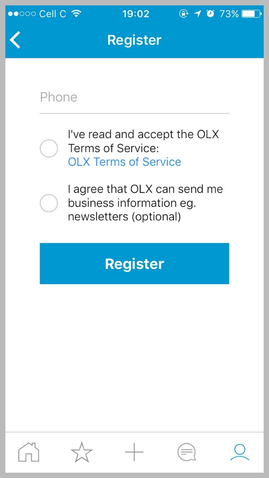 App Review The OLX App - Mr Lunga