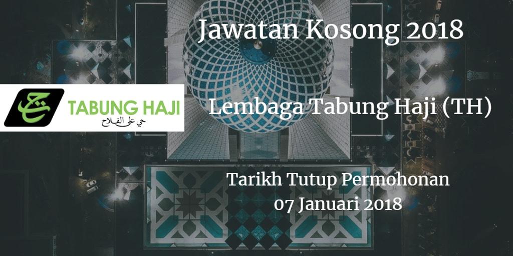 Jawatan Kosong Lembaga Tabung Haji (TH) 07 Januari 2018