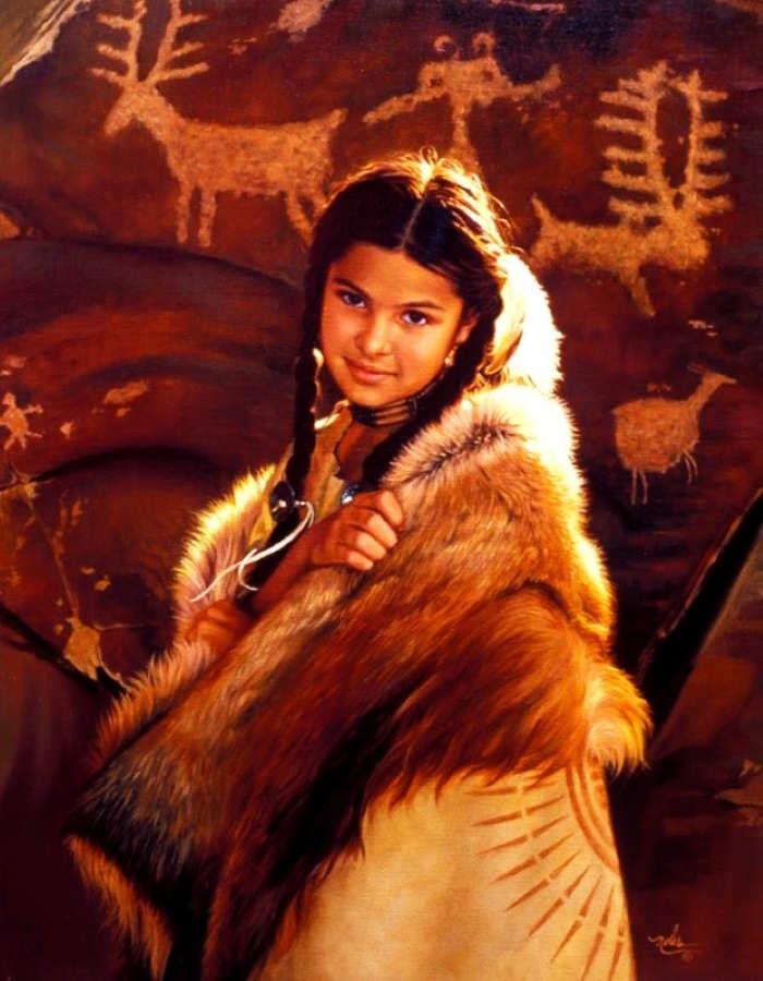 Картины об индейцах