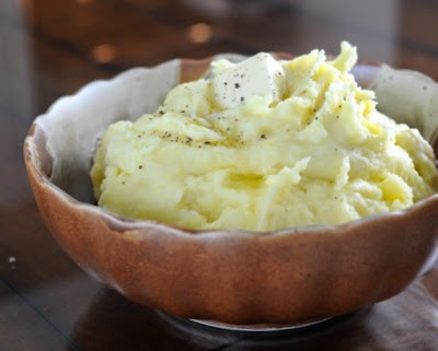 Rich & Creamy Mashed Potatoes made with three techniques from Cook's Illustrated. #BestRecipes of 2014 from #AVeggieVenture