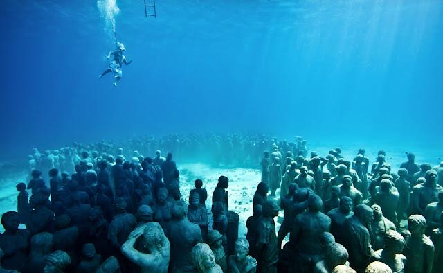 skulpture pod vodom