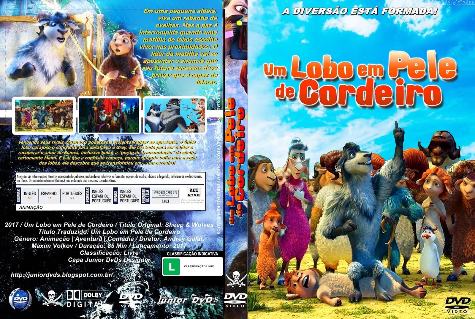 Junior dvds capa do filme um lobo em pele de cordeiro for O jardineiro fiel capa