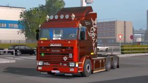 SCANIA 113M & 143M truck mod