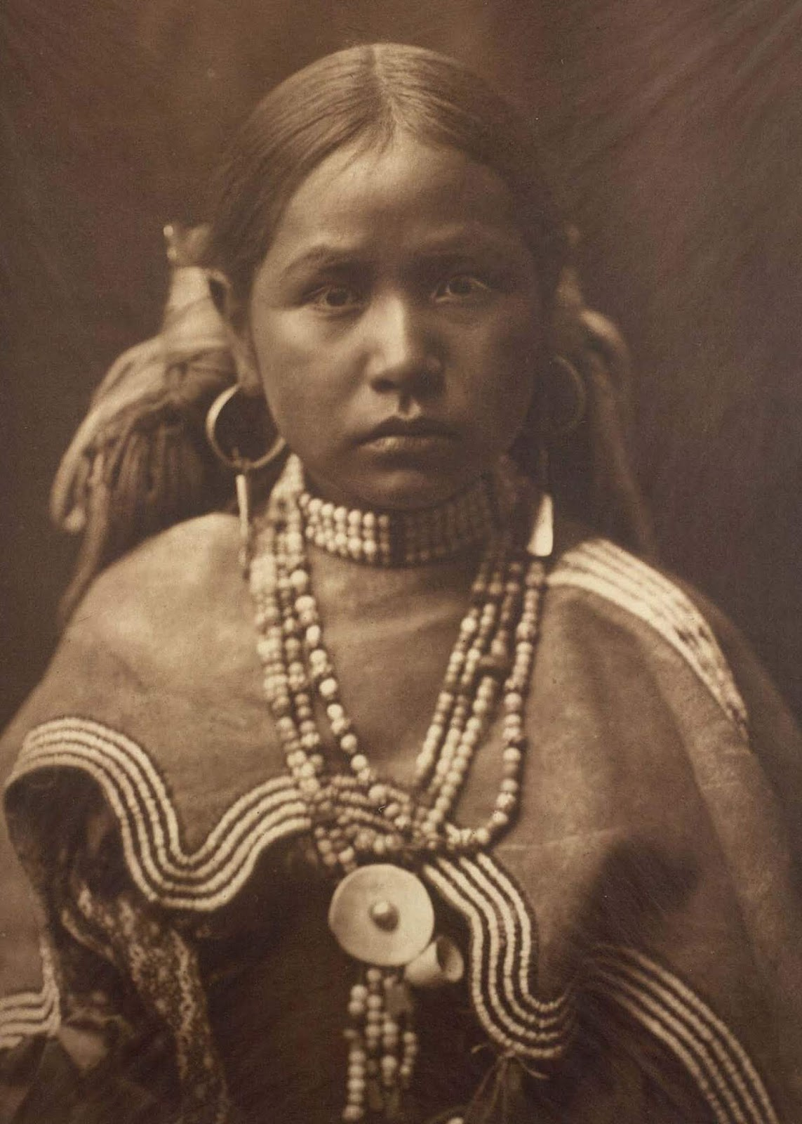 A Jicarrilla girl. 1910.
