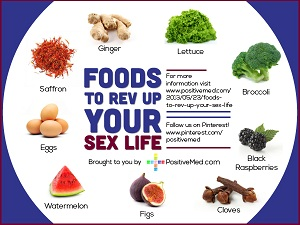 """9 Foods for Bosting Sex Life"""