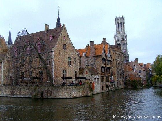 Muelle del Rosario, Brujas, Bélgica
