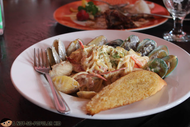 Seafood Pasta of Secret Garden