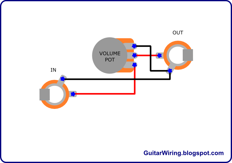 The Guitar Wiring Blog  diagrams and tips: Acoustic Guitar Volume Control