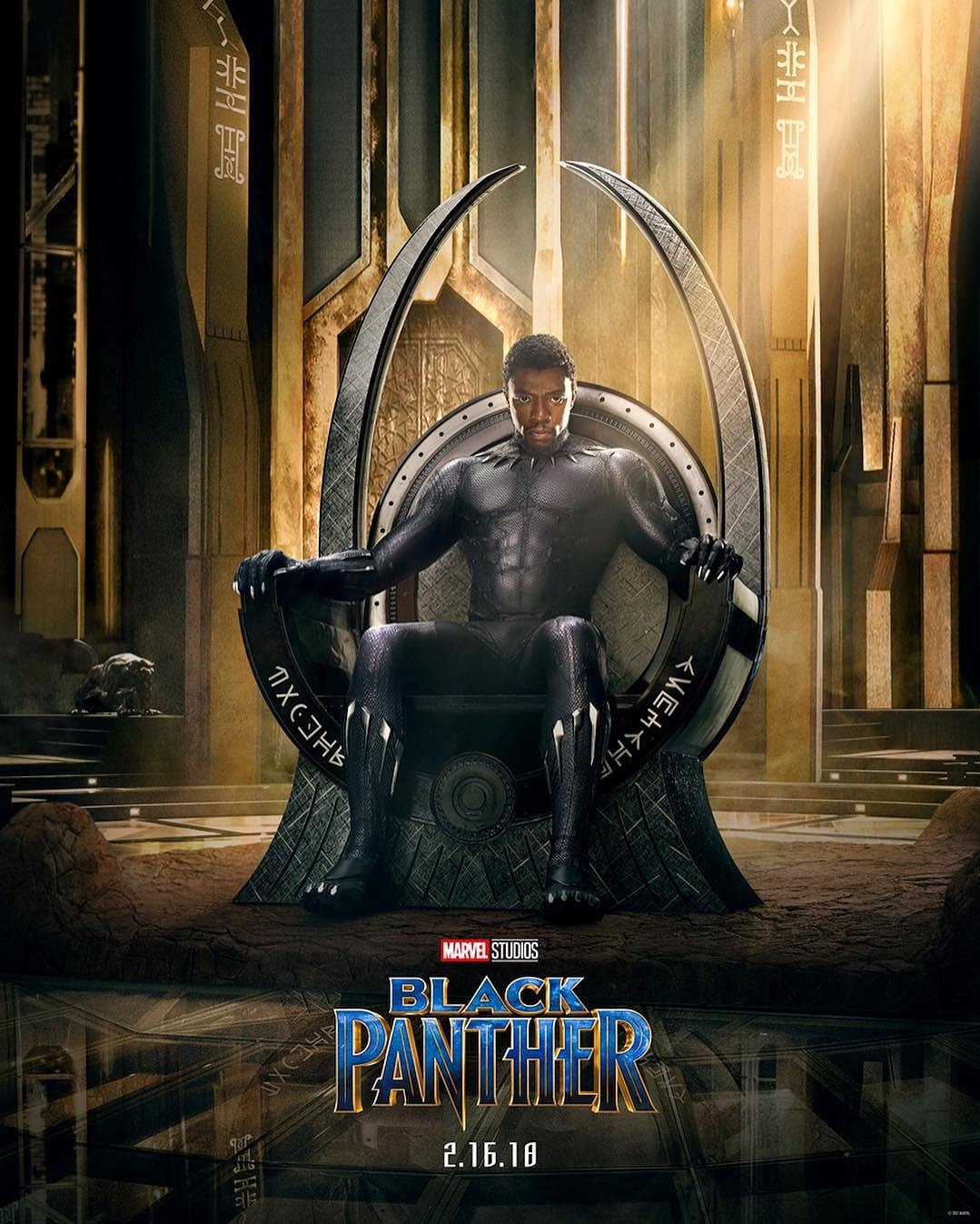 Marvel Reveals Black Panther Official Teaser Trailer.
