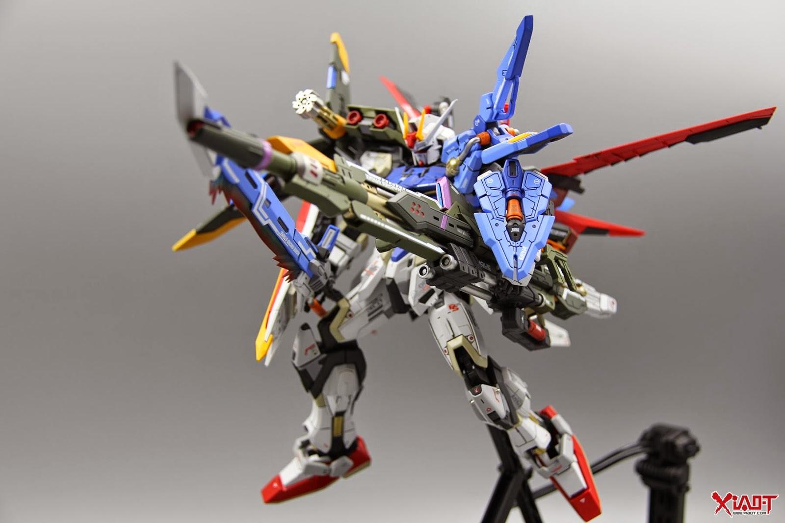 Custom Build Bandai Dm 1 100 Perfect Strike Gundam