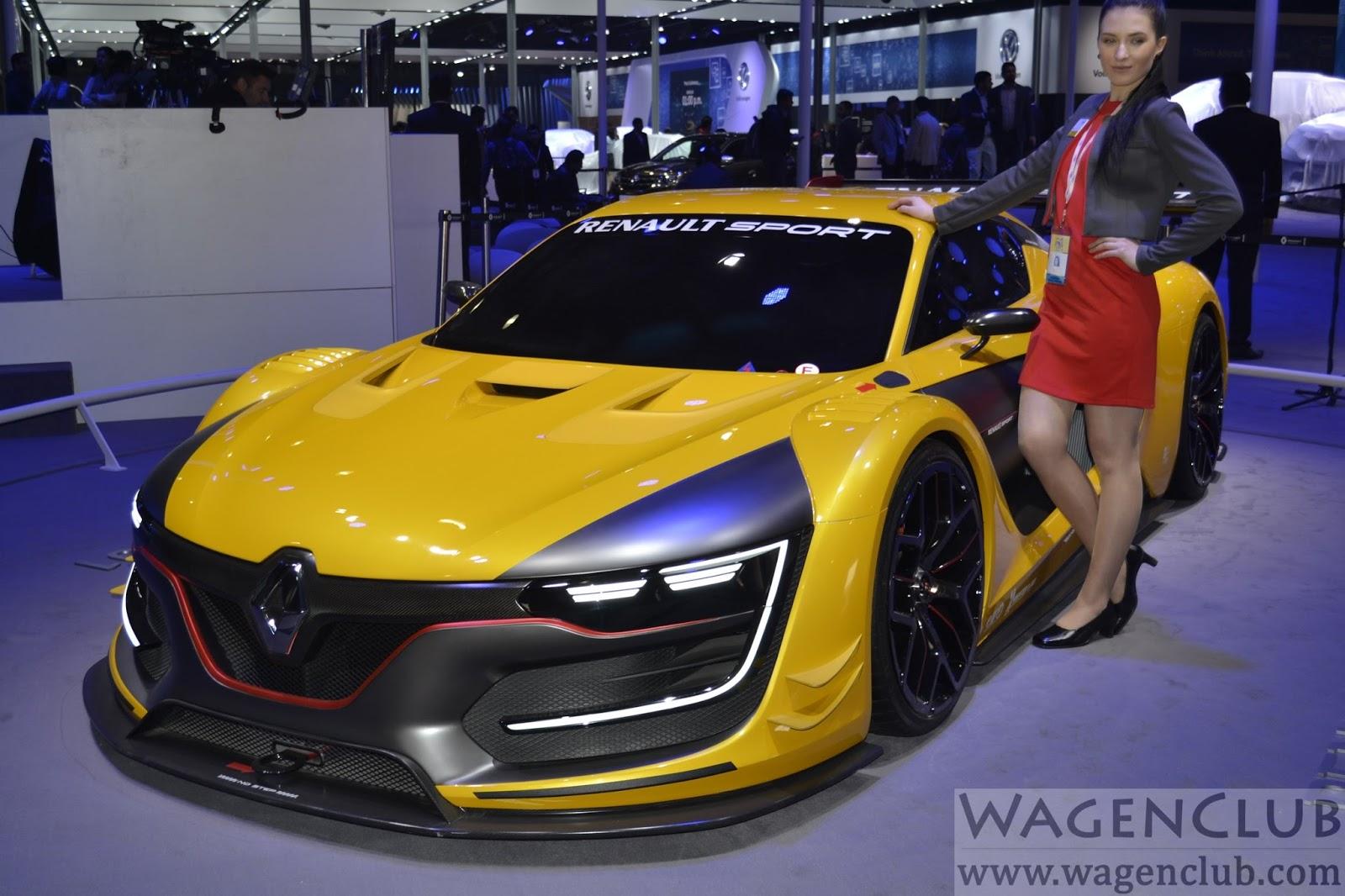 2016 Delhi Auto Expo Top 10 Concept Cars: Renault Sport RS 01 GT Racer