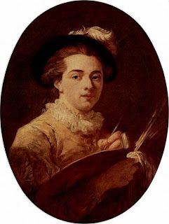 Self portrait by Jean-Honoré Fragonard