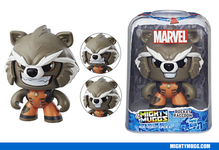 Rocket Raccoon Marvel Mighty Muggs Wave 2 2018