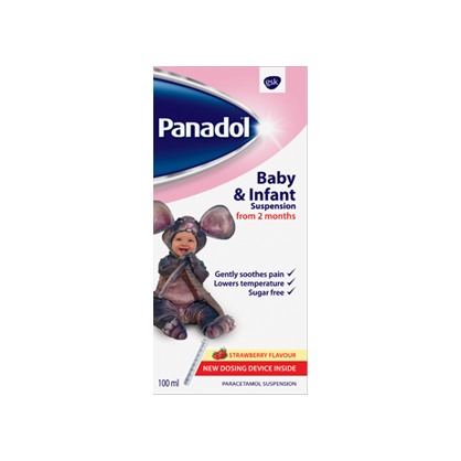 Panadol baby and infant suspension