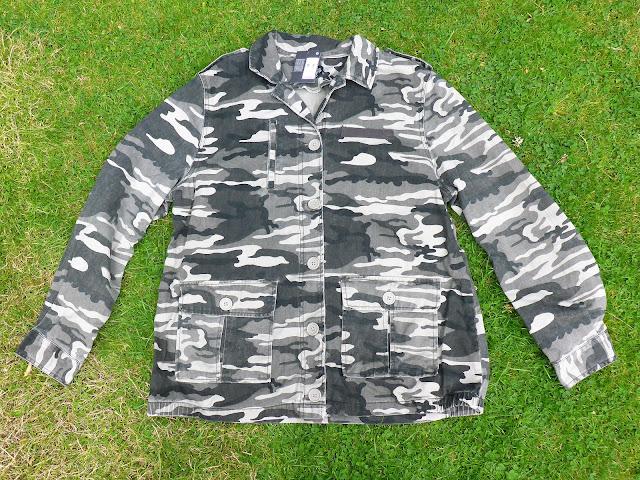 Primark camouflage jacket