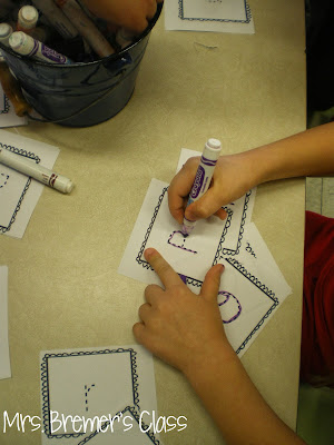 Rainbow Writing activities to practice letter printing and sight words- perfect as a literacy center