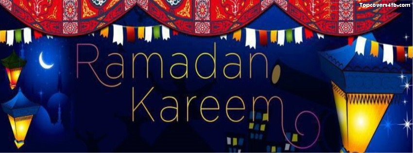 Ramadan Mubarak 2019 FB Cover Photos Pack - Ramadan Cover Photos 4