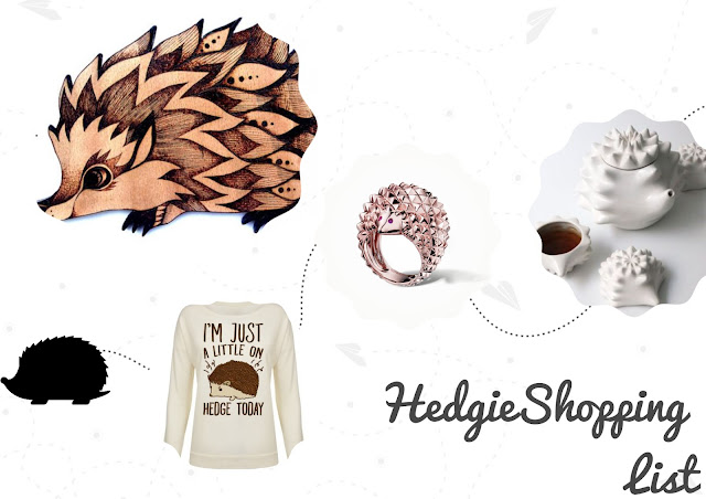 Hedgehog Shopping List