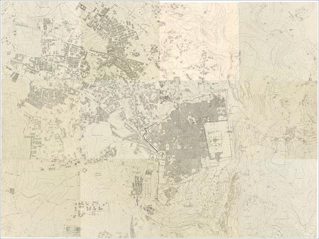 Grand plan de Jérusalem