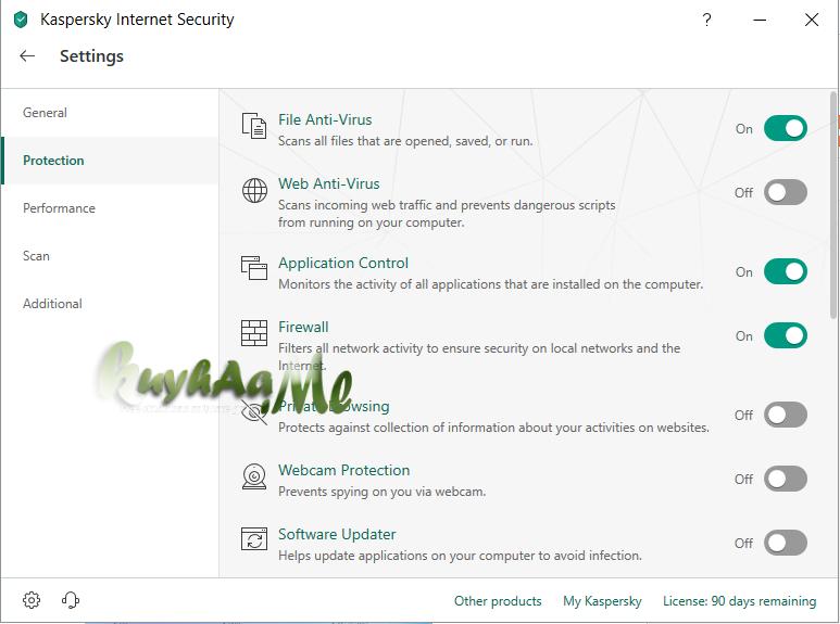 Kaspersky Internet Security 2019