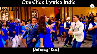 Palang Tod Song Lyrics