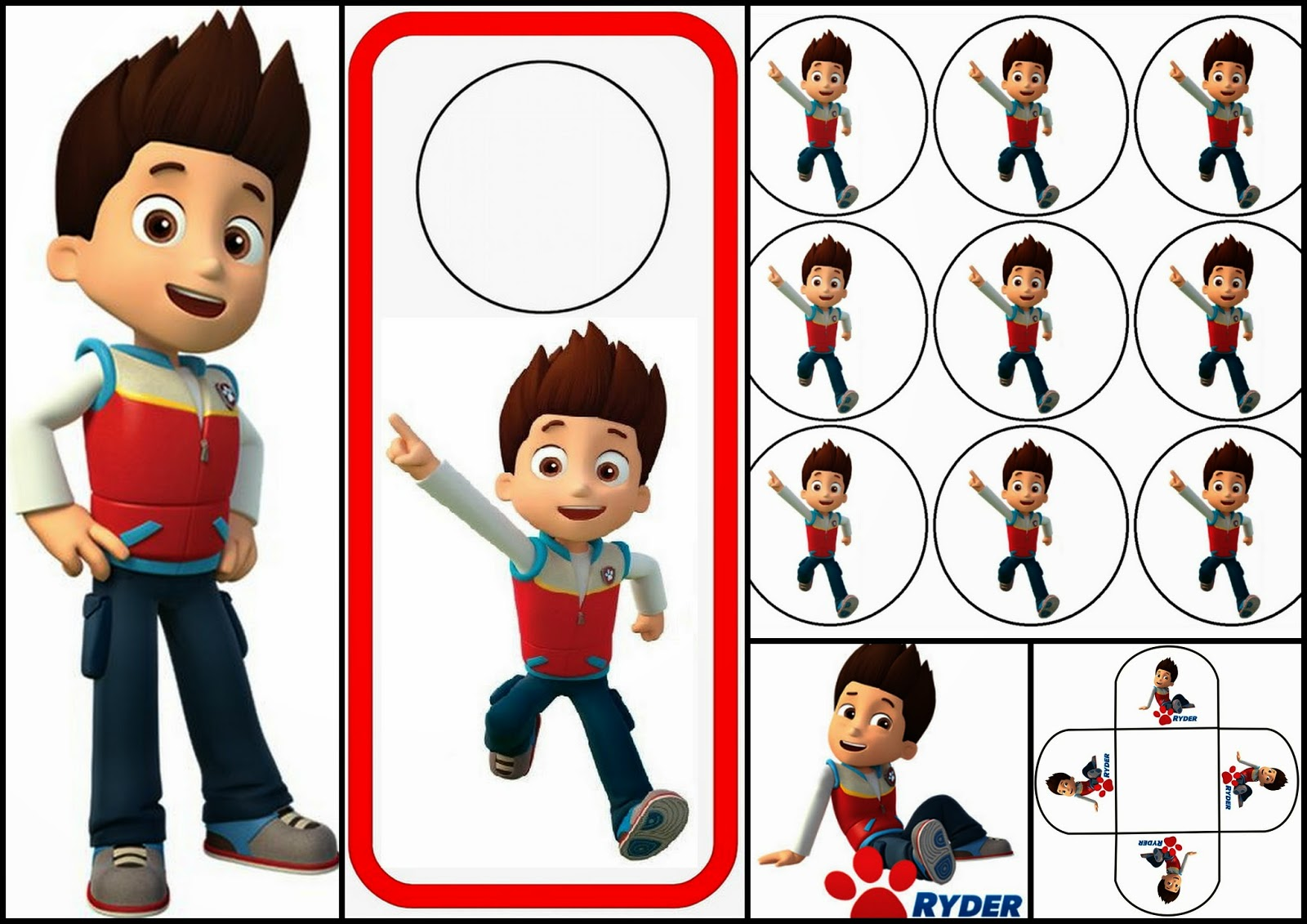 Paw Patrol: Ryder Free Printable Mini Kit.