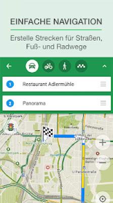 تطبيق MAPS.ME,