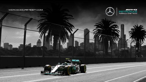 Australia F1 2016 Mercedes AMG Petronas