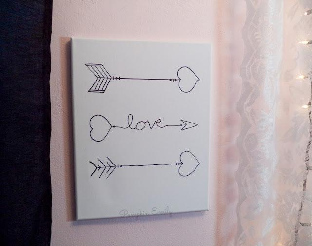 DIY Arrow Canvas